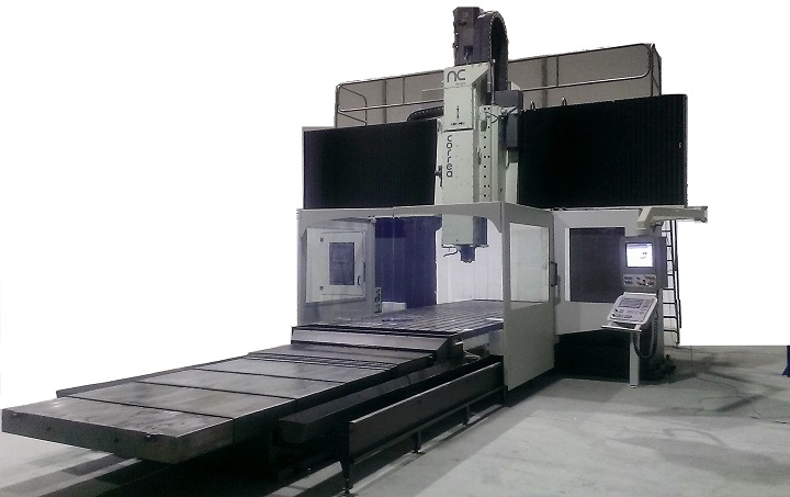 Bridge type milling machine CORREA FP60