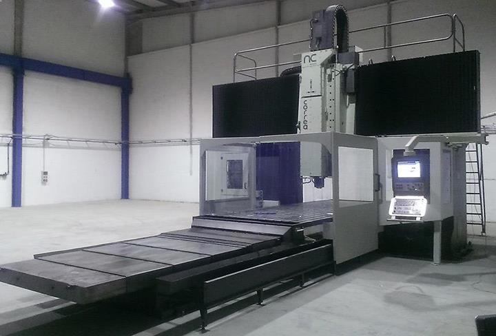Overhauled Correa FP60 milling machine