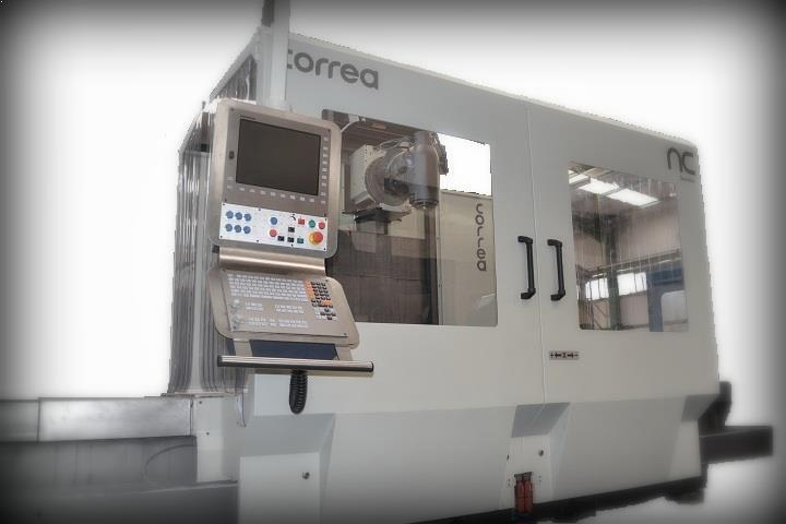 Milling machines CORREA A25/25 retrofitted by NC SERVICE