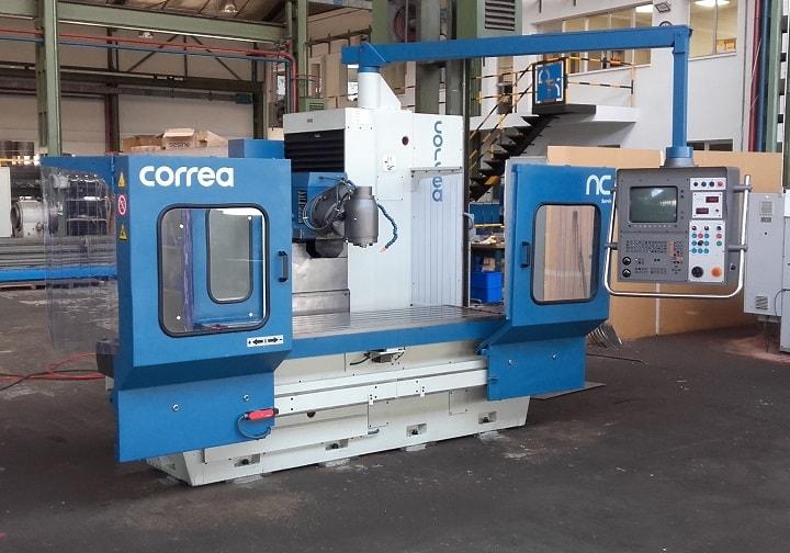 Fresadora reconstruida CORREA CF20/20