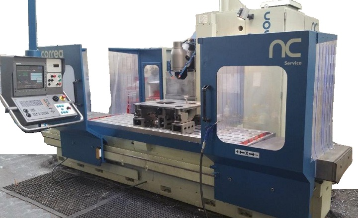 CORREA CF22/25 & CORREA CF22-Plus milling machines retrofitted by NC Service