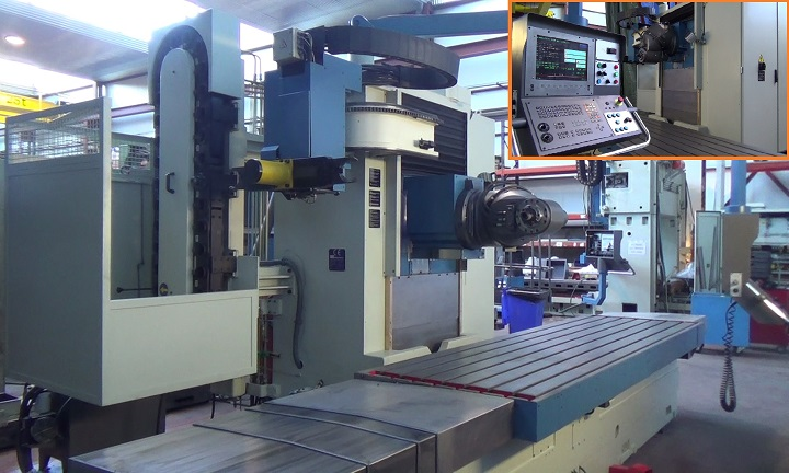 Bed type CORREA A25/30 and A30/30 milling machines