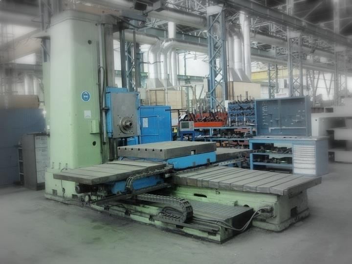 Horizontal boring machine SACEM