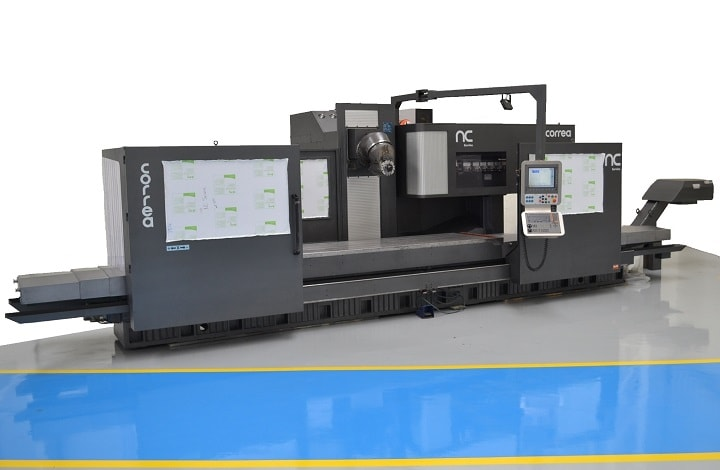 Bed type milling machine CORREA PRISMA 35