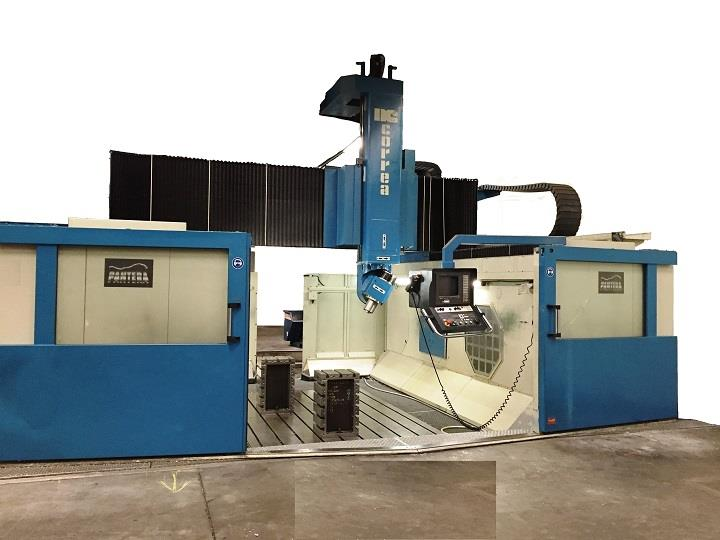 Gantry type CORREA PANTERA second hand milling machine