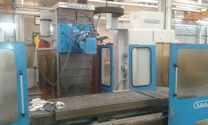 Milling machine ANAYAK VH-1800 - 11846