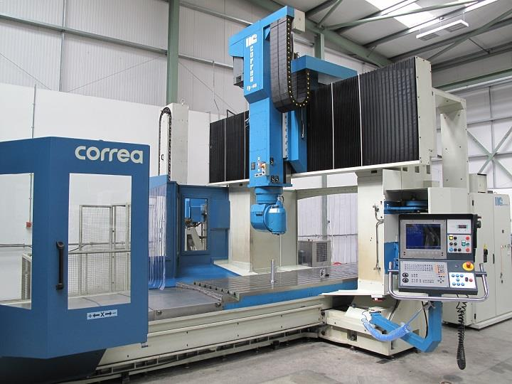 Bridge type milling machine CORREA FP40/40S