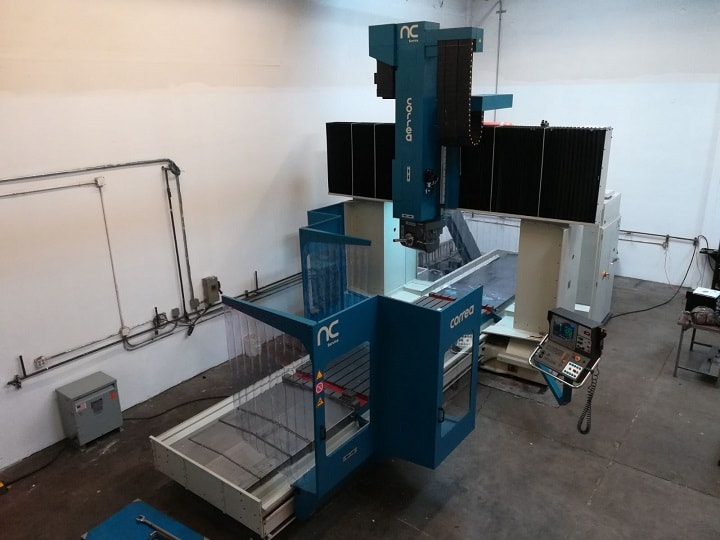 Bridge type milling machine CORREA FP40/40