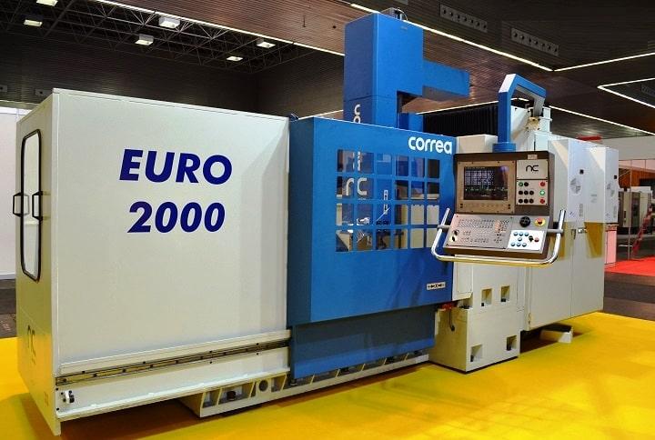 Centro mecanizado usado CORREA EURO2000 reconstruido por NC Service