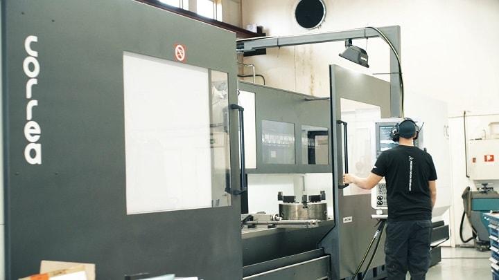 Bed type milling machine Correa DIANA 35 - 624057
