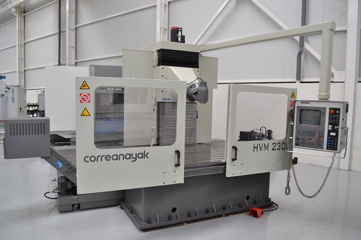 Mobile column milling machine ANAYAK HVM-2300