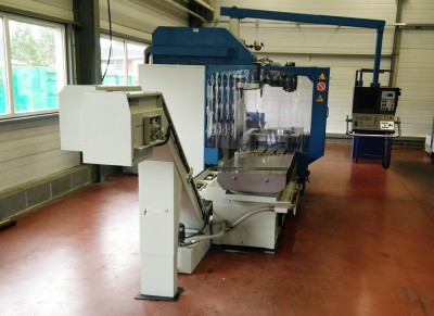Second hand bed type milling machine Correa CF22/25