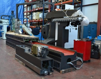 Bed type milling machine CORREA PRISMA 35