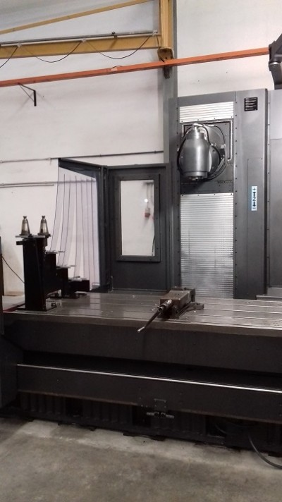 Bed type milling machine CORREA PRISMA-20