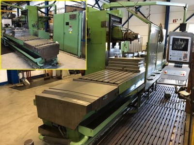 Bed type milling machine CORREA A25/30 9252316