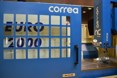 Bridge milling machine CORREA EURO2000 refurbished by NC Service