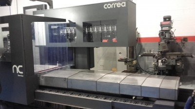 Second hand bed type milling machine Correa DIANA 35
