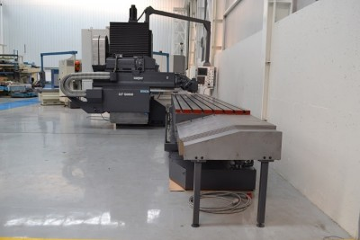 Used milling machine ZAYER KF 5000 refurbished by NC Service