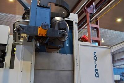 CORREA A25/25 milling machine - Refurbished with new HEIDENHAIN