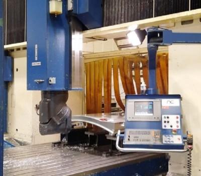 Used milling machine FP50/50 retrofitting by NC Service