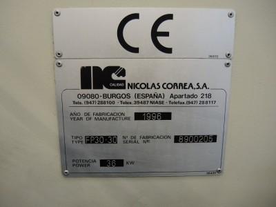 Bridge type milling machine CORREA FP30/30 - 8900205