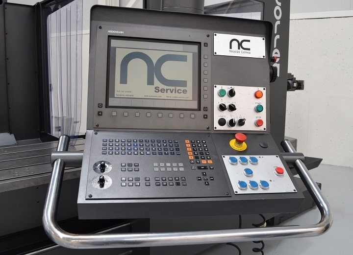 Heidenhain milling machine for sale - Nicolás Correa Service