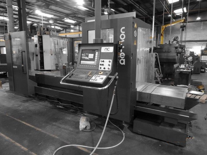 Bed type milling machine CORREA PRISMA20 fully inspected
