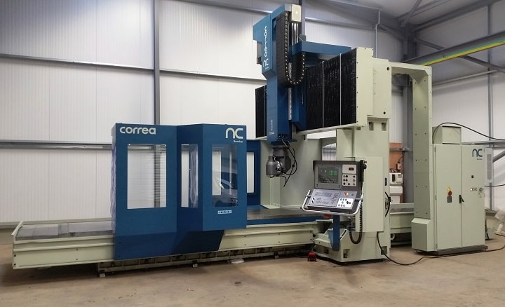 CNC bridge type CORREA milling machines