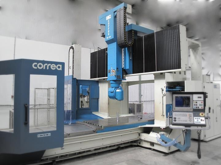 NC Service sells and install the bridge type milling machine CORREA FP40/40S