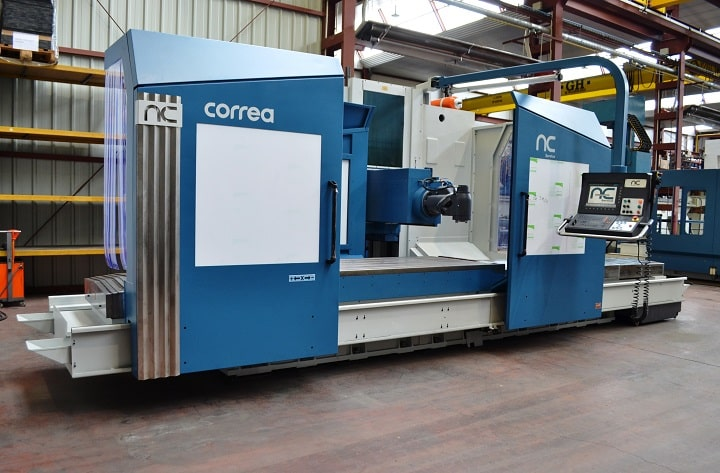 Used milling machines CORREA by NC Service