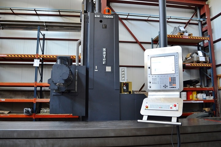 Sale of refurbished ZAYER milling machines refurbished by NC Service