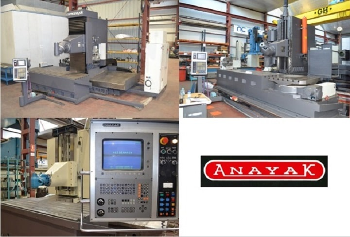 Anayak milling machines for sale - Nicolás Correa Service