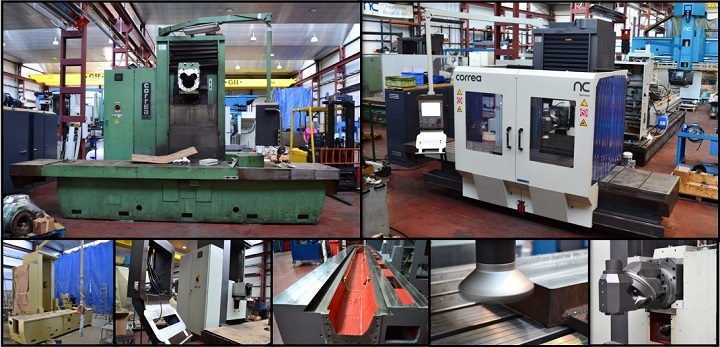 Milling machine refurbishment - Nicolás Correa Service