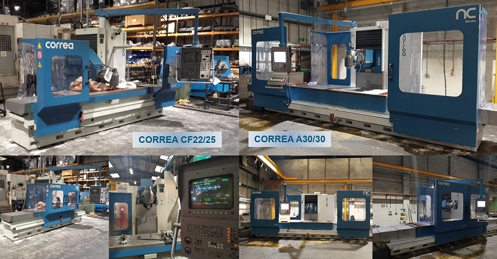 Used refurbished milling machines - Nicolás Correa Service