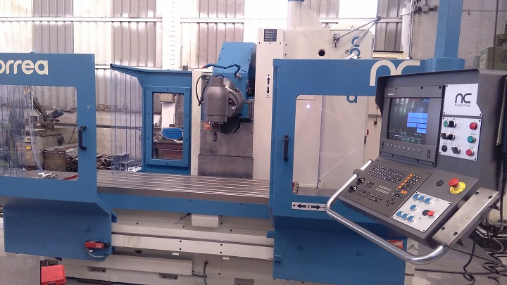 Bed type CORREA CF17 milling machine