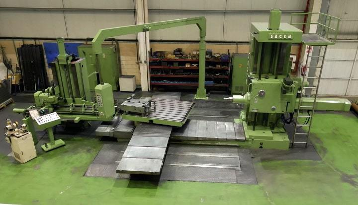 Second hand CNC SACEM boring machine