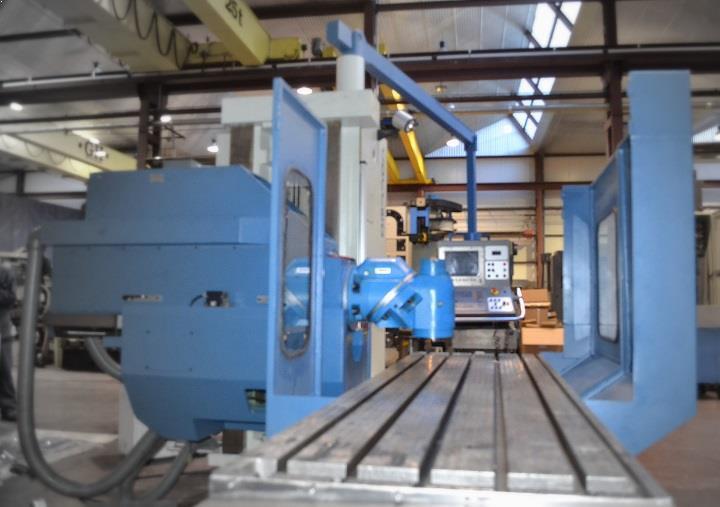CF22/25 Correa milling machine overhauled by NC SERVICE
