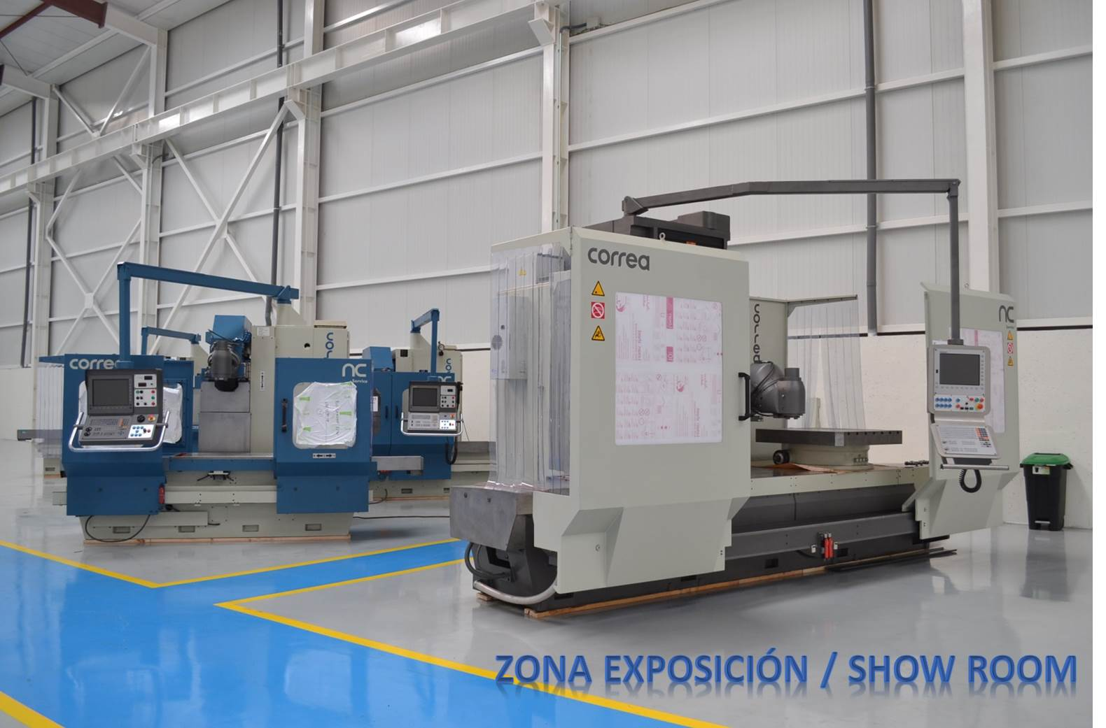 Nicolás Correa Service ends the year with fully operational new facilities