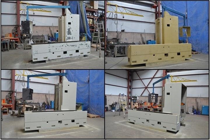 Proceso de reconstrucción fresadora usada - Nicolás Correa Service