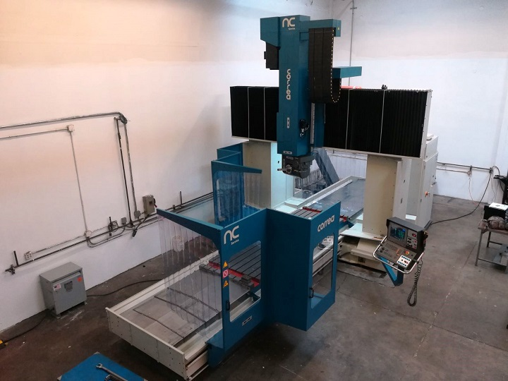 CORREA FP40/40 milling machine overhauled by NC Service