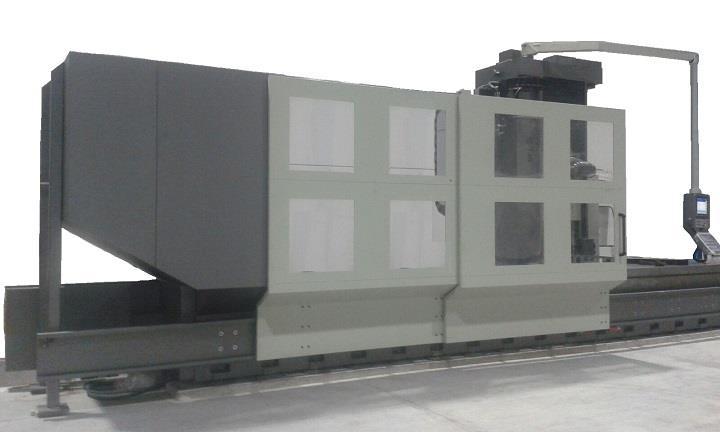 Overhauled Correa L30/84 milling machine