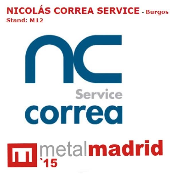 NC Service at METAL MADRID 2015 exhibition