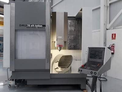 Second hand 5 axes machining centre DECKEL MAHO refurbished by NC Service