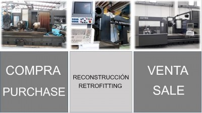 Purchase and sale of used industrial machinery process - Nicolás Correa Service