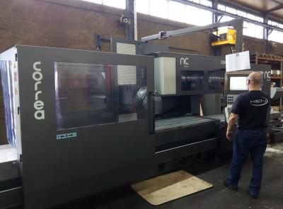 CORREA PRISMA35 milling machine refurbished by NC Service
