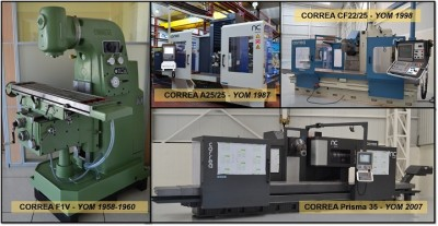 Learn how NC Service has adapted to the evolution of CORREA milling machines