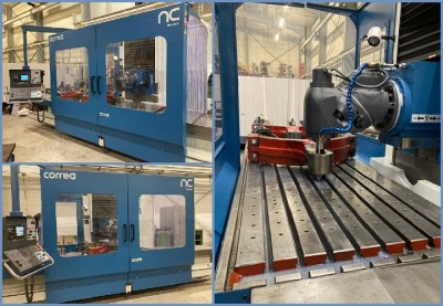 CNC second hand NICOLAS CORREA milling machine refurbished by NC Service