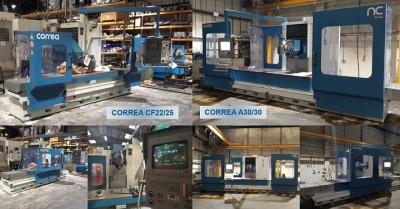 Used refurbished milling machines - Nicolás Correa Service
