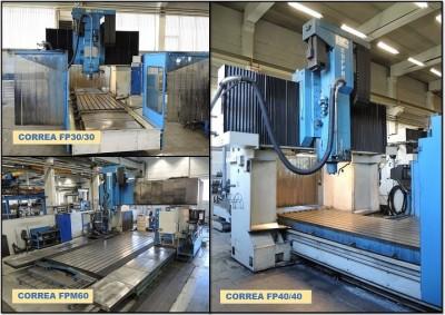 Bridge type milling machines in stock at Nicolas Correa Service