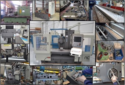 Second hand CORREA A16 milling machine